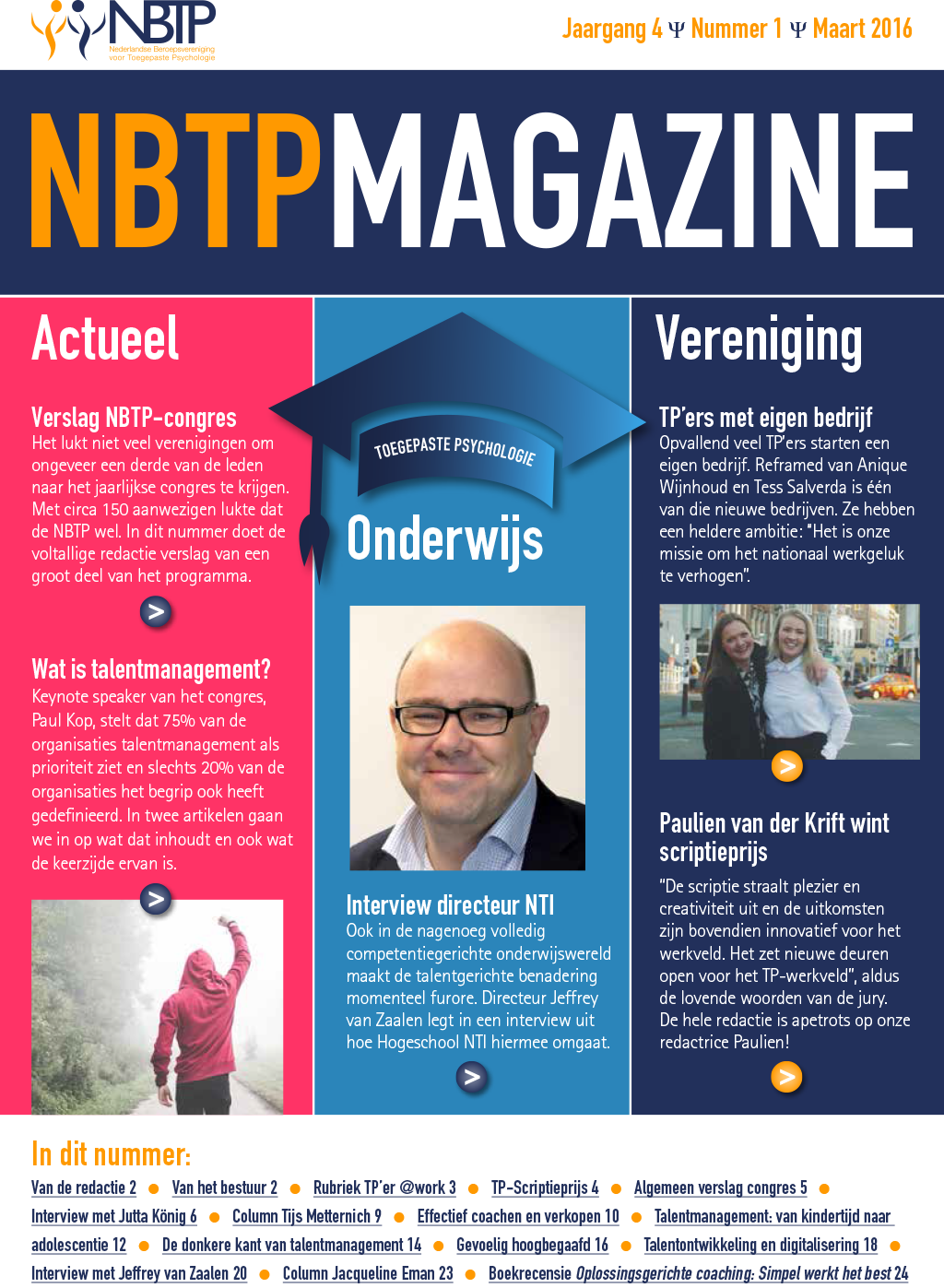 Nieuw NBTP Magazine